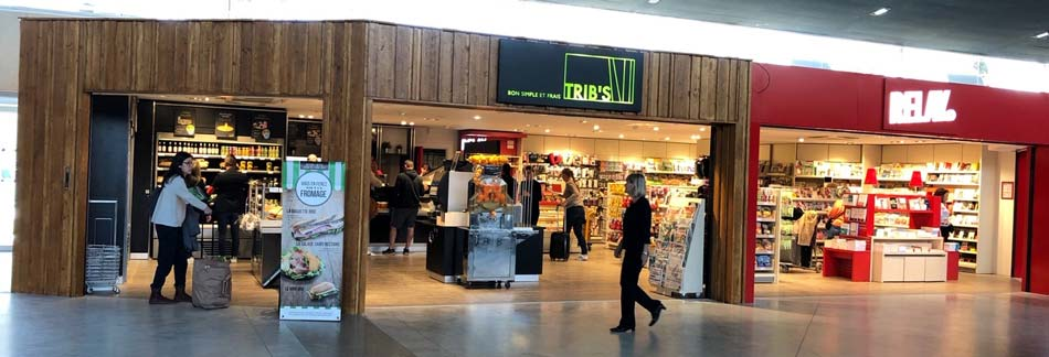 Available stores at Montpellier Airport | Aéroport